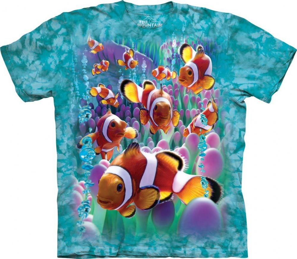 Clownfish T-shirt | Aquatic T-shirts | The Mountain®